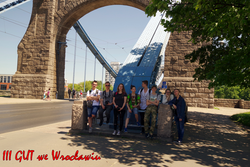 Uczniowie GUT w Łodzi