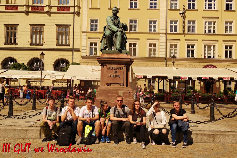 Wycieczka szkolna do Wrocławia
