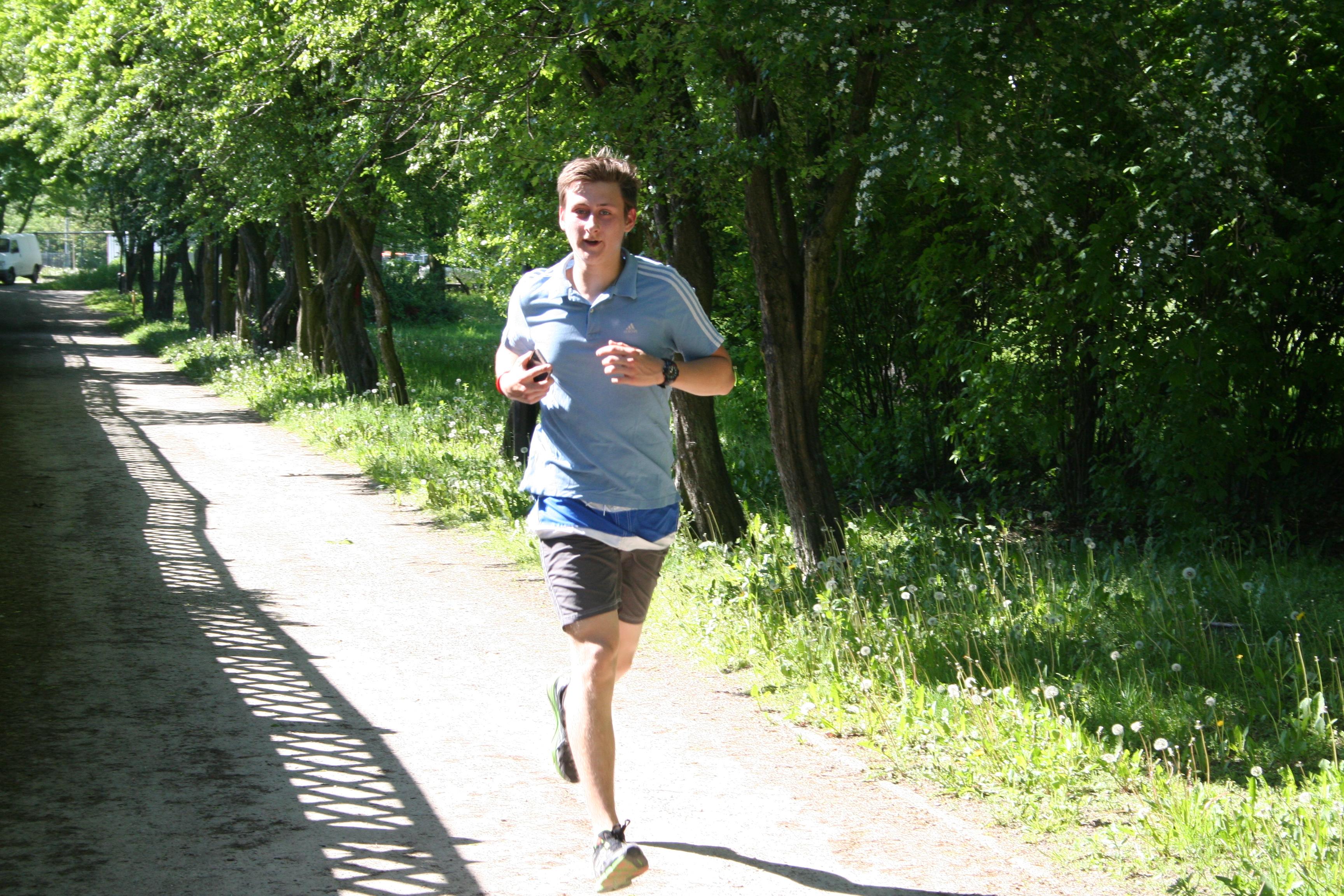 Trening przed maratonem