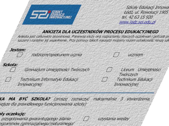 ankieta dla uczniów