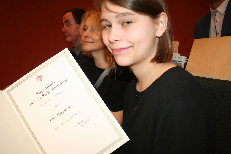 Uczniowie SEI otrzymali Stypendium Prezesa Rady Ministra